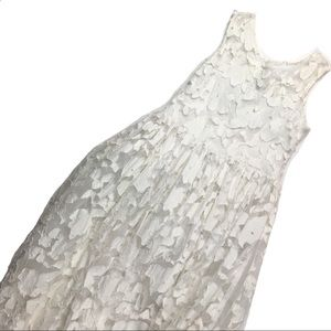 Five loaves Two fish white floral lace dress sz 8